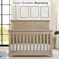 Don't Miss Our Blowout Sale on Already Low Prices for Nursery Sets - Only While Supplies Last! Full Nurseries To Your Door in 1-2 Weeks Starting at $649 PLUS Free Shipping. You'll Never See These Prices Again! Nursery Furniture Sets, Baby Furniture, Nursery Sets, Crib Mattress, Crib Sheets, Gliding Chair, 4 In 1 Crib, Panel Headboard, Convertible Crib