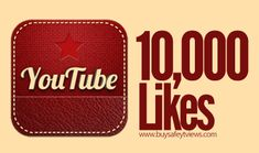 Buy 10000 YouTube Likes Cheap Where you can get more likes on YouTube instantly. You can buy YouTube likes with PayPal, credit card, or Bitcoin. Package price start  from $1. #YouTubeLikes #YouTube