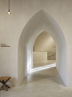 Interior. Raw. old arches. Bc. | Materials | Pinterest | Arch ... on bow design ideas, archway kitchen, arched doorway ideas, london design ideas, stone path design ideas,