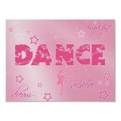 Beautiful Dance Poster  #dance