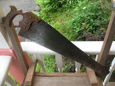 Vintage scie a main de Spear &Jackson acier sheffeild 1940/50 de la boutique NorDass sur Etsy
