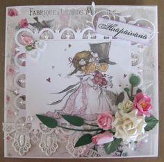 Hääkortti, Wedding, Lily of The Valley