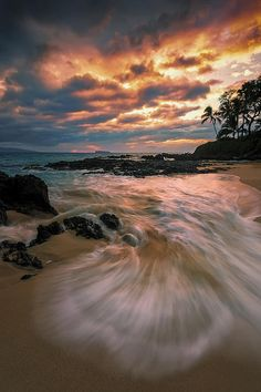 Secret Sunset - Makena - Maui - Hawai