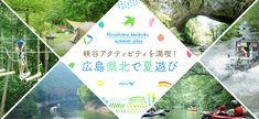 [広島] 帝釈峡でカヤックや遊覧船など夏にぴったりなアクティビティを体験♪【マイフェバ】 Banner Design Inspiration, Web Banner Design, Web Design, Banner Sample, Logos Retro, Adobe Illustrator, Grid Layouts, Travel Cards, Hiroshima