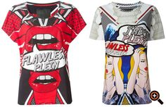 Philipp Plein T-Shirt für Damen & Herren – High Fashion mit Print & Glamour