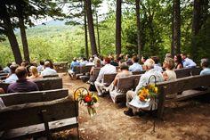 A rustic camp style wedding from rusticweddingchic.com