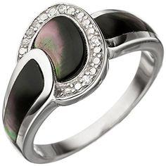 Dreambase Damen-Ring rhodiniert Silber 1 Perlmutt 1 Zirko... https://www.amazon.de/dp/B01HHGCJLW/?m=A37R2BYHN7XPNV