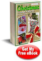 11 Free Christmas Crochet Patterns for Your Home eBook | AllFreeCrochet.com