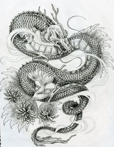 baby dragon clover tattoo designs - Google Search
