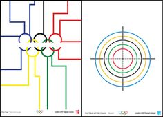 Tube design - olympic posters