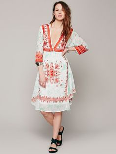 Free People FP New Romantics Flower Crown Dress, $228.00