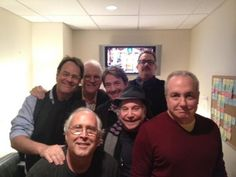 Chevy Chase, Dan Aykroyd, Steve Martin, Martin Short, Paul Simon, Tom Hanks, Lorne Michaels