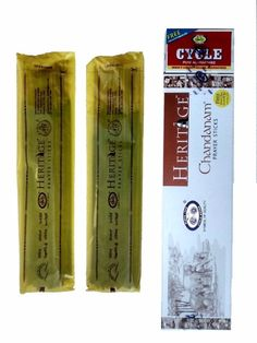 Cycle Chandan Agarbatti has natural pure Chandan fragrance. These agarbatti are hand rolled with Sandal incense.