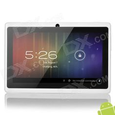 "A13 7"" Capacitive Touch Screen Android 4.0 Tablet PC $80"