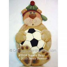 Soccer Bear - Betty Bowers - PDF DOWNLOAD
