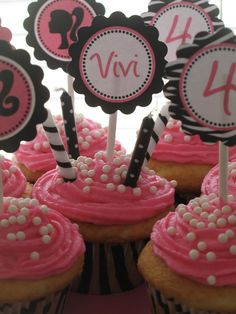 I love these without the stickers. Just plain pink with the edible pearls is so cute