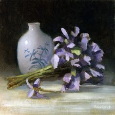 Buy Bouquet of Violets, Oil painting by Pascal Giroud on Artfinder. Discover thousands of other original paintings, prints, sculptures and photography from independent artists.