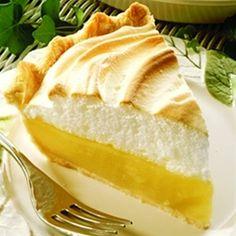 Magic Lemon Pie - LOOOOVE Lemon pie!