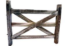 Gate headboard from Saffron & Genevieve