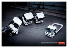 "Dyna Truck: ""BOW DOWN"" Print Ad  by Fcb Johannesburg"