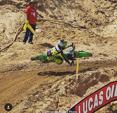 Hover mode FTW ・・・ Since outdoors is approaching here's a pic from my rookie season at GH getting… Motocross Love, Enduro Motocross, Vintage Motocross, Motocross Racing, Ktm Dirt Bikes, Mx Bikes, Cool Bikes, Kawasaki Motorcycles, Racing Motorcycles