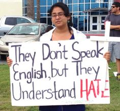 A view from th border:  Signs from a surprising rally in Texas