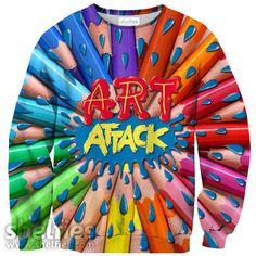 Art Attack Sweater – Shelfies