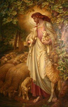 1 Господь--Пастырь мой; я ни в чем не буду нуждаться: 2 Он покоит меня на злачных пажитях и водит меня к водам тихим, 3 подкрепляет душу мою, направляет меня на стези правды ради имени Своего. 4 Если я пойду и долиною смертной тени, не убоюсь зла, потому что Ты со мной; Твой жезл и Твой посох--они успокаивают меня.