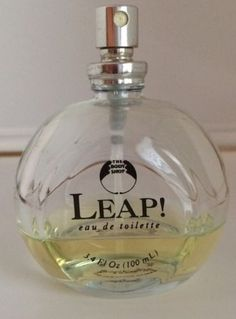 Leap The Body Shop Women EDT Oz Perfume Discontinued Hard to Find for sale online Tbs, Hard To Find, The Body Shop, Beautiful Things, Bottles, Nostalgia, Perfume, Glass, Pretty