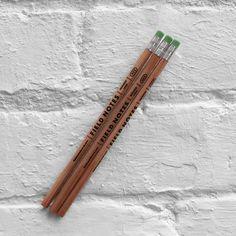 Field Notes - No. 2 Woodgrain Pencils - Set of Three
