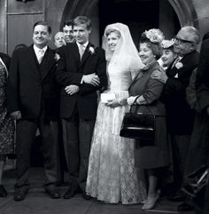 1962 wedding of Ken Barlow and Valerie Tatlock   Boy that takes me back