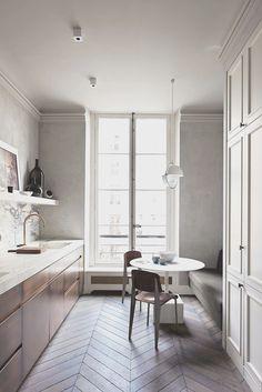 Image result for modern parisian kitchen