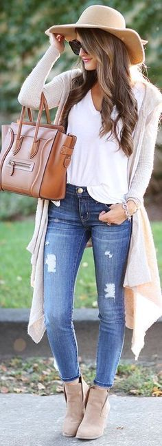 Fall Outfit Inspiration with Cozy Cardigan