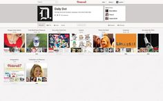 Pinterest changes its profiles.