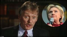 BREAKING SCANDAL! WHAT PUTIN'S SPOKESMAN JUST REVEALED ABOUT HILLARY CLI...