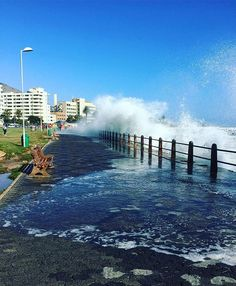"""🏄""""Cape of storms! Surfs up today!"""" 👉 featuring @deckoo _______________________________ If you'd like to see your images being featured here just use #capetownmag - We really enjoy sharing your shots of all the different aspects of the Mother City and the rest of the Western Cape. Surfs Up, Storms, Cape Town, Your Image, Rest, River, City, Instagram Posts, Outdoor"""