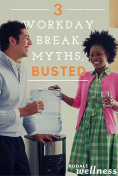Be smarter about how you use your break time at work.   RodaleWellness.com