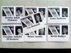 Love the year listed with the name & photo for our multi-year class reunion  reunion ideas - Bing Images