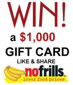 10 Free $1,000 Pre-Paid Gift Cards – Frugal Canadians