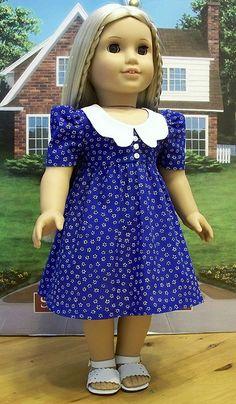 Royal flowered 70's dress for Julie or Ivy