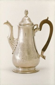 Coffee Pot Paul Revere, 1755-1760 The Museum of Fine Arts, Boston