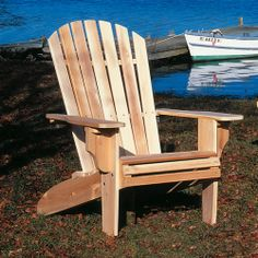 Oversized Adirondack Chair