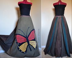 Barefoot Modiste can be found on Etsy and FB LOVE HER WORK! #The Monarch African Print Dresses, African Fashion Dresses, African Dress, Xhosa, Fashion Project, Couture, Indian Designer Wear, Fancy Dress, Ball Gowns