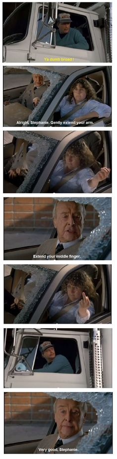 Road Etiquettes from Naked Gun