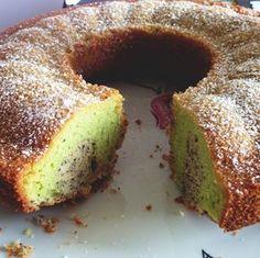 Die Bienenkönigin: Natürlich grün Pandan Chiffon Cake