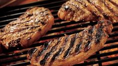 Grill up tasty steaks in no time using Dijon, garlic and herbs.