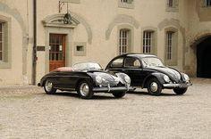 Porsche 356 Speedster & Porsche designed VW Beetle