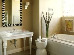 5 Tips to Prepare Your Guest Bath for Company : Rooms : Home & Garden Television