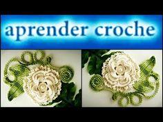 FLORES EM CROCHE FLOR REAL - 041 - YouTube
