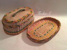 хлебница бумажные трубочки
